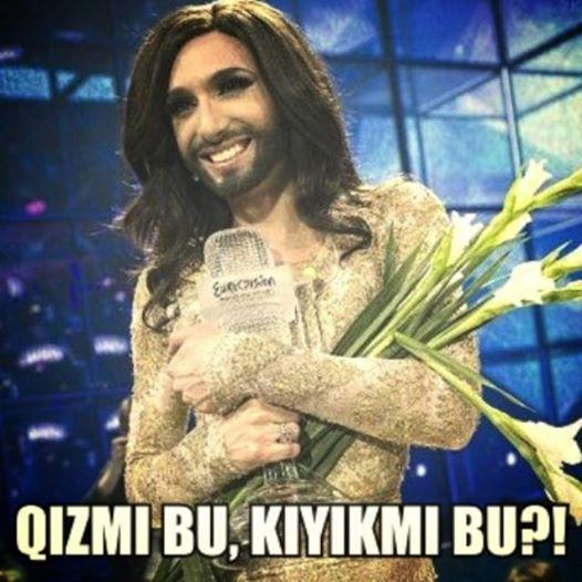 Konchita Wurst – Rise like a phoenix (Eurovision 2014) (Barcha haqiqatlar - QIZMI BU, KIYIKMI BU?!)