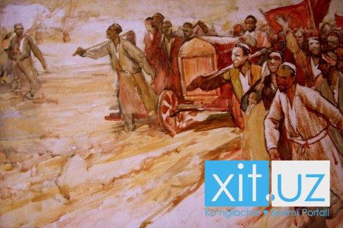 Продажа картин художника Энвера Ишмаметова