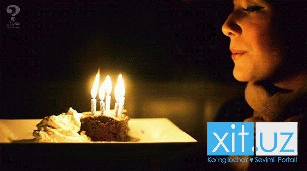 Почему задувают свечи на торте