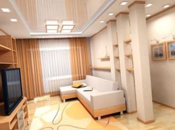 Внутренние отделочные работы: внутренняя отделка стен и потолков