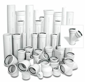 Фасонные части канализационных труб: виды и монтаж