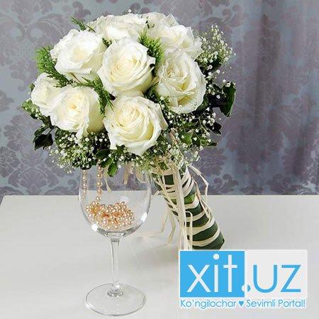 Свадебный букет цветов невесты, 10 секретов выбора