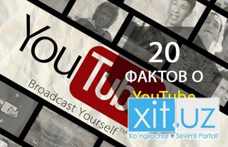 20 фактов о YouTube