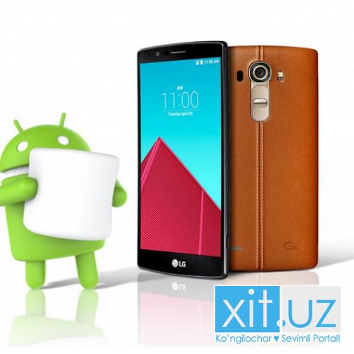 LG начнет обновлять свои устройства до Android 6.0 уже на следующей неделе